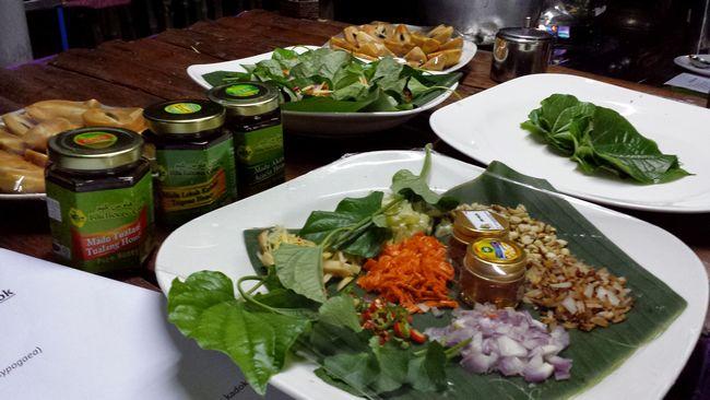 Ingredients used in the betel leaf bites