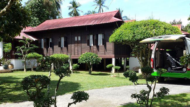 The tranquil Cikgu Garden village