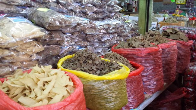 Another famous Kelantan product is its keropok ie. fish crackers - so many varieties I'd struggle to figure out which ones to buy
