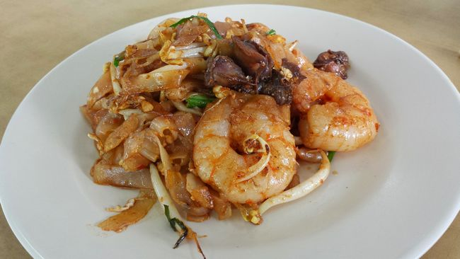 Char Kway Teow at Excellent Café, Penang