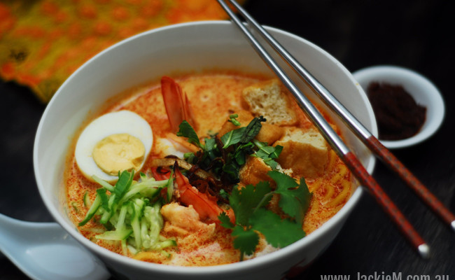 How to Make Laksa (Thermomix)