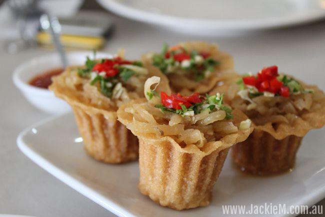 Kuih Pie Tee at Amy's Nyonya Restaurant