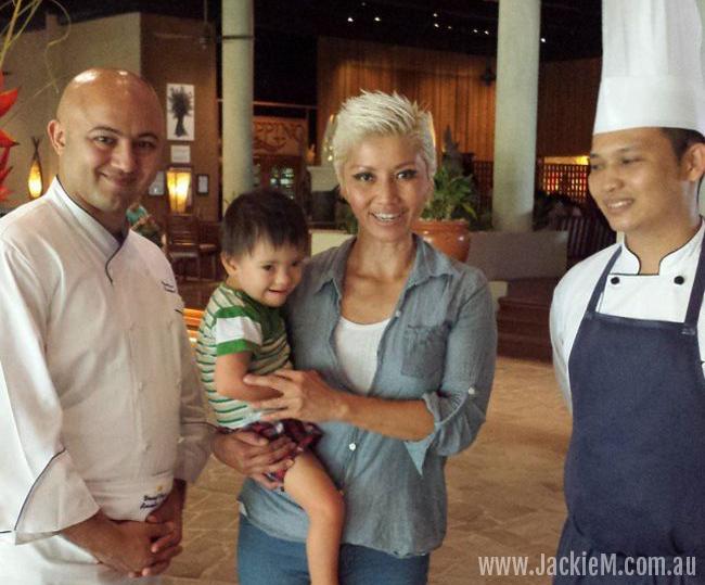 Executive Chef Yusuf Yaran (left) and Kadazan Chef Elroy (right)