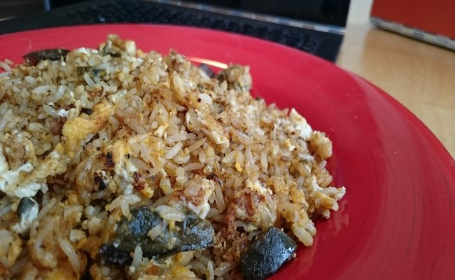 How to Cook Fried Rice with 3 Types of Eggs