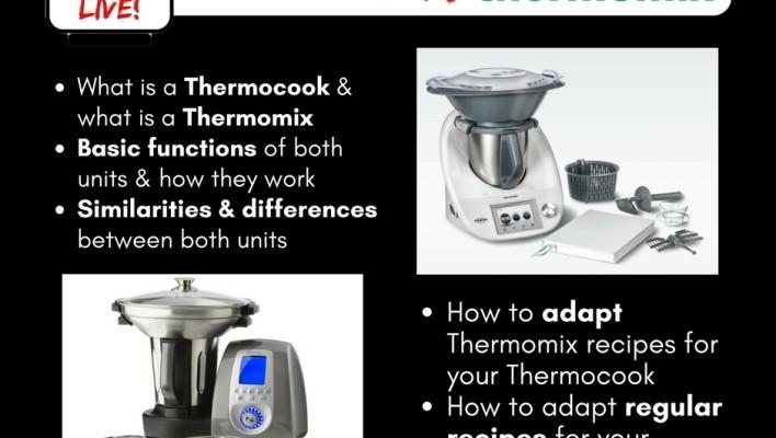 Thermocook vs Thermomix – A Comparison (Live Broadcast)