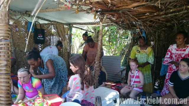 Hair braiding on the islands
