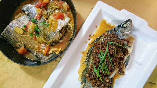 How to Cook Steamed Fish with Preserved Vegetables