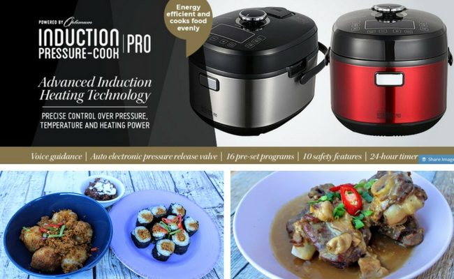Optimum Induction Pressure-Cook Pro Giveaway #HelpWyatt