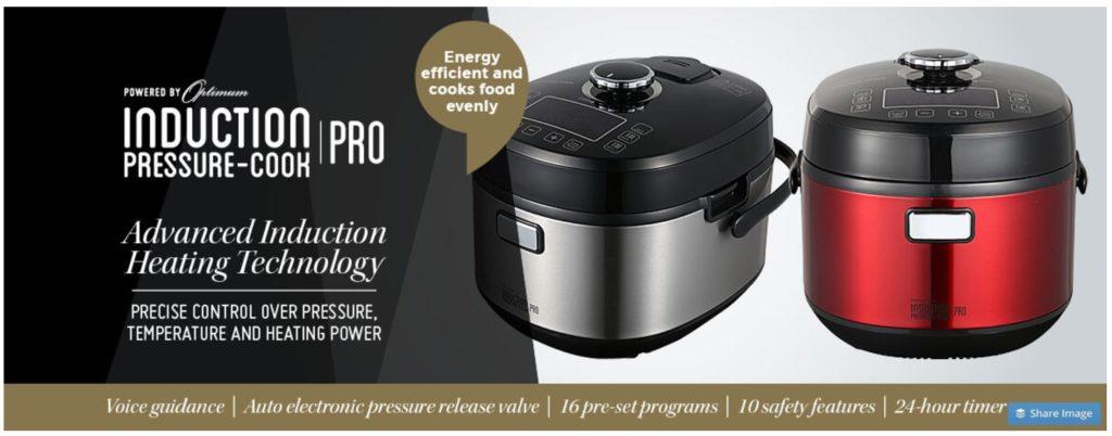 Optimum Induction Pressure-Cook Pro
