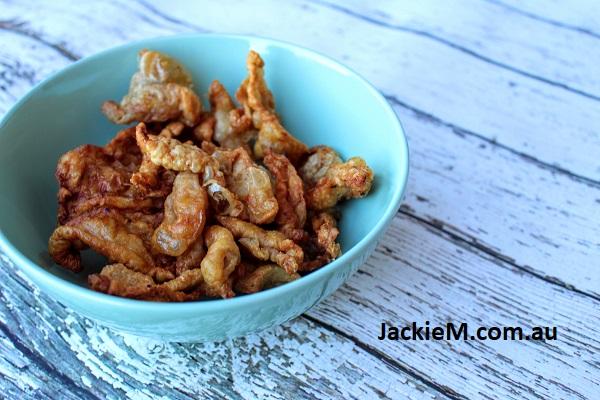 How To Make Marmite Chicken Airfryer Chicken Crackling And Sambal Belacan Tumis Jackie M