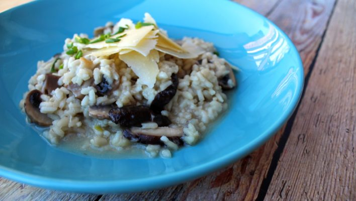 How to Make Mushroom Risotto (Using an Optimum Thermocook)