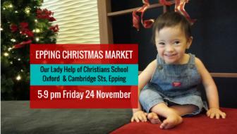 Epping Christmas Markets – Friday 24 November 2017