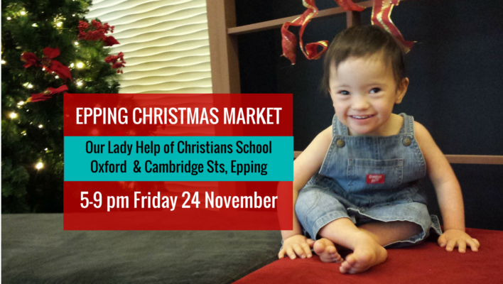 Epping Christmas Markets – Friday 24 November 2017