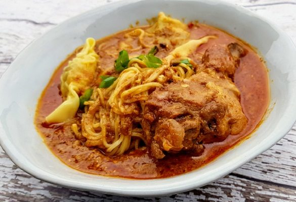 How to Cook Malaysian Chicken Curry Noodles
