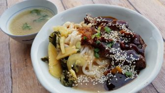 How to Make Seremban Beef Noodles (Ngau Lam Fun)