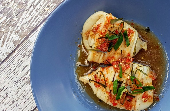 How to Cook Khmer-Style Grilled Squid