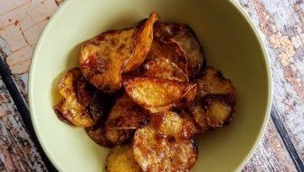 How to Make Krepek Ubi Pedas Manis – Spicy Potato, Cassava or Sweet Potato Crisps