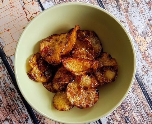 How to Make Krepek Ubi Pedas Manis – Spicy Potato, Cassava or Sweet Potato Crisps