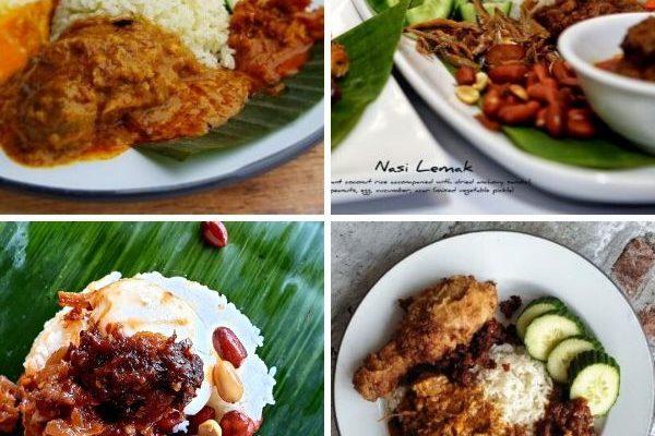 Nasi Lemak-Udek-Campur-Kandar-Tumpang-Tumpeng – Part 1