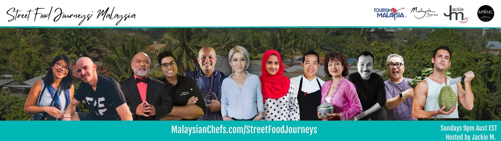 Jackie M - Discover the secrets to Malaysian Food and Travel
