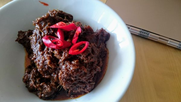 Beef Rendang by Jackie M. (with my Lenovo Yoga in the background)