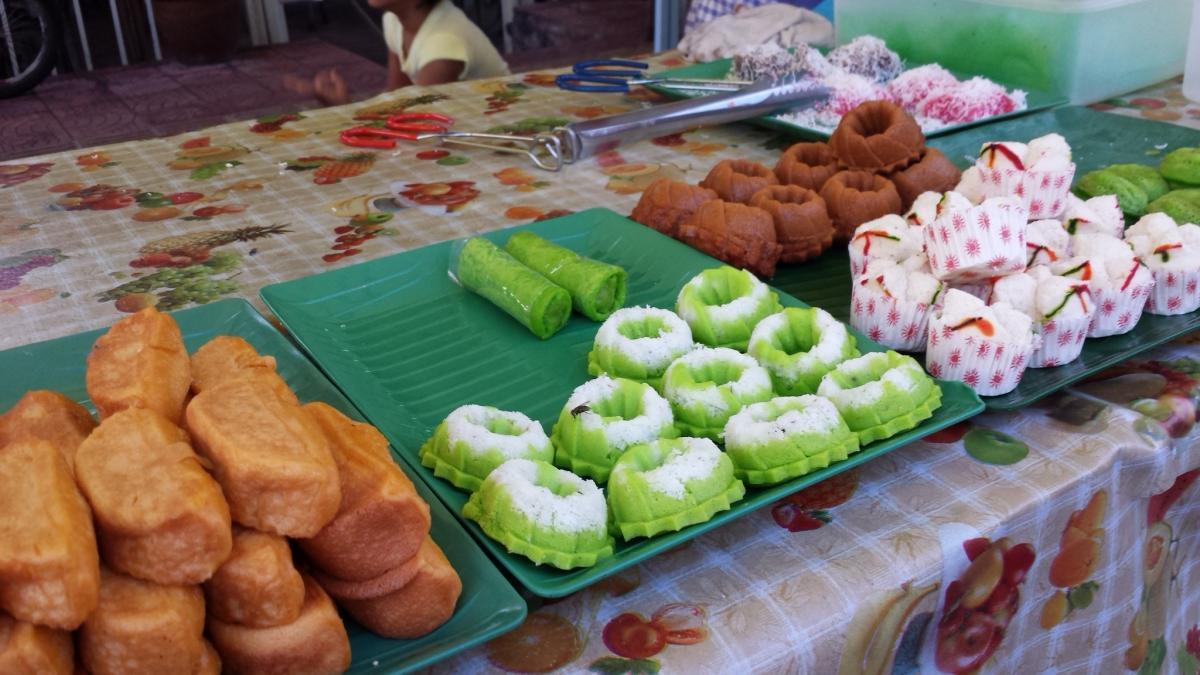 Kuih-muih stall in Kampung Baru