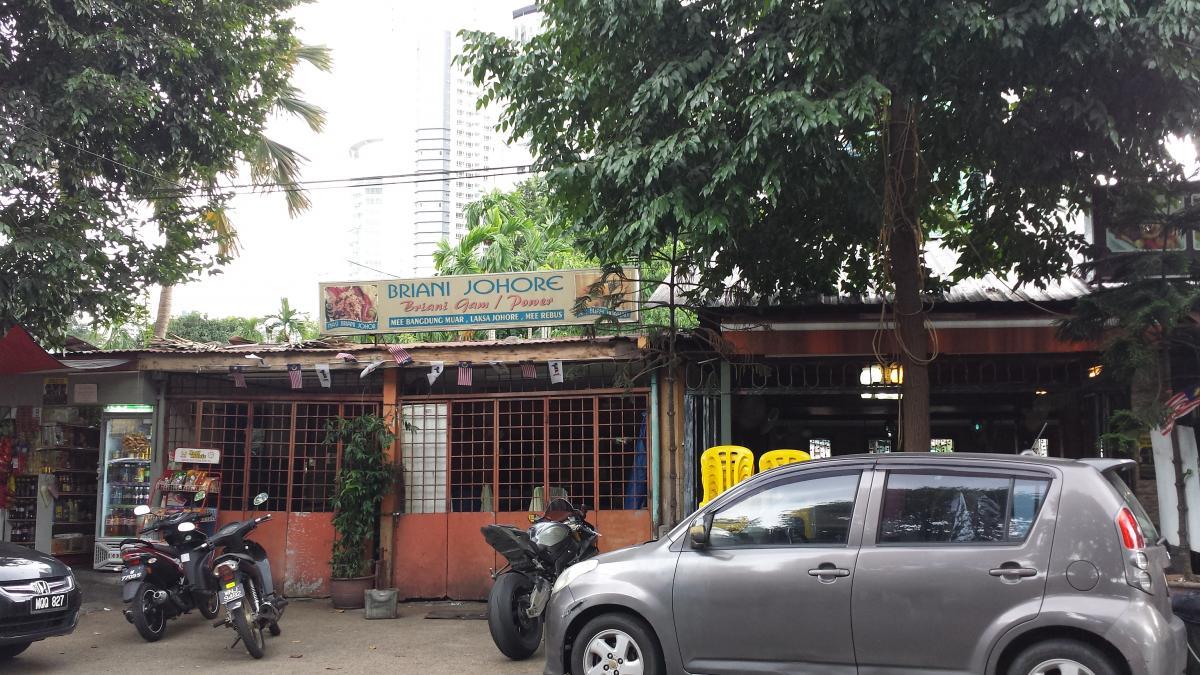 Streets of Kampung Baru, KL