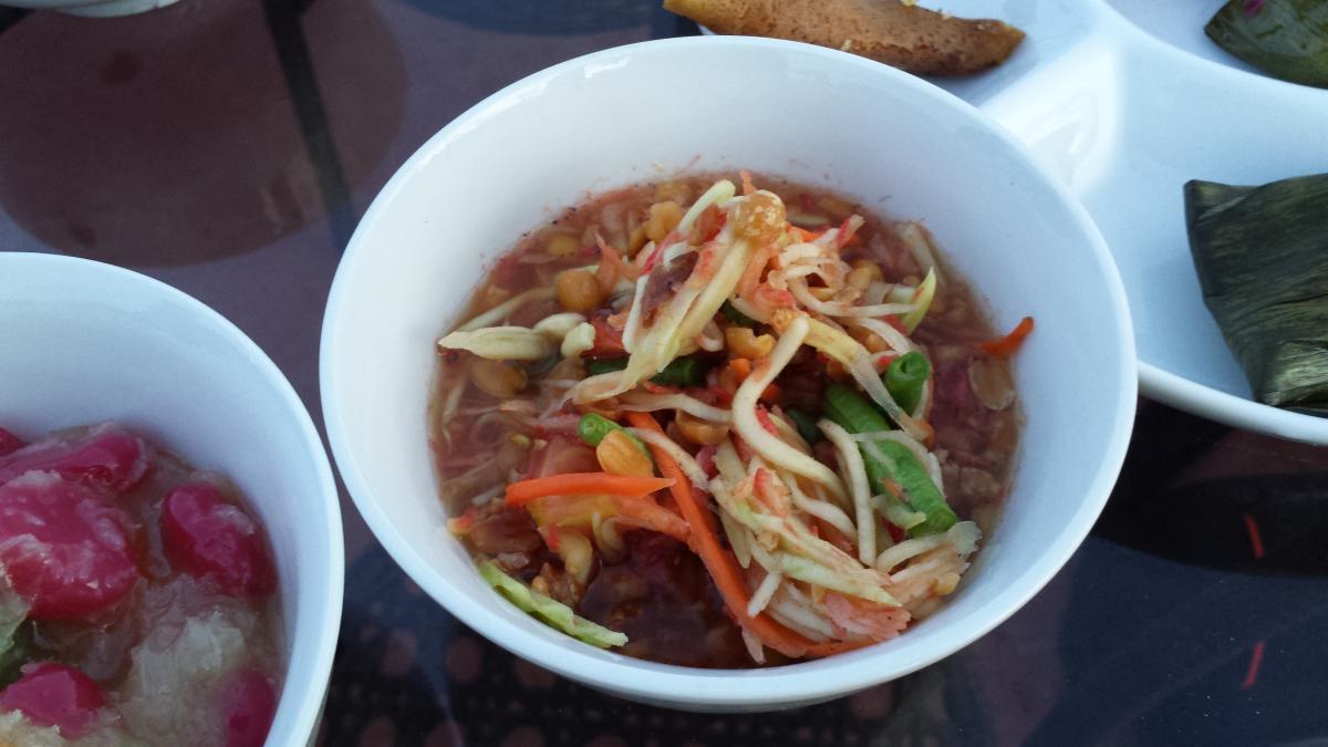 Sontam - Kelantanese-Thai salad
