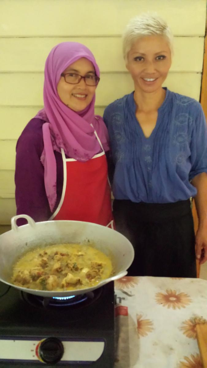 Cooking lesson with Mak Asiah
